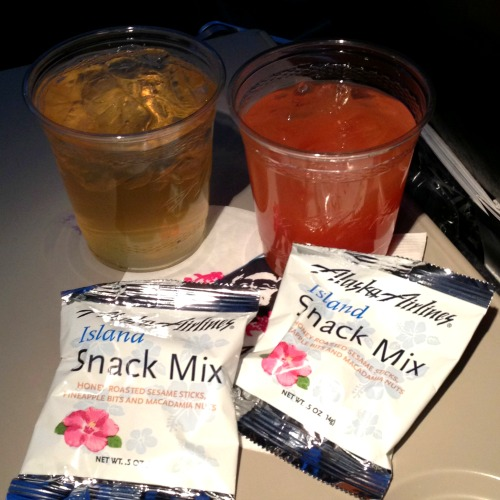 Alaska Airlines Snacks Hawaii