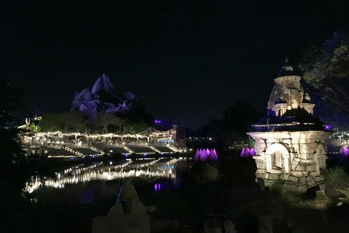 Disney Animal Kingdom at Night - Expedition Everest