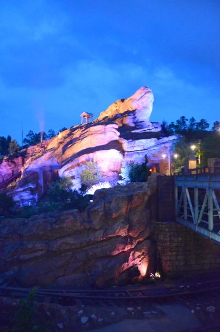 Top Attractions at Hong Kong Disneyland - Big Grizzly Mountain Runaway Mine Cars