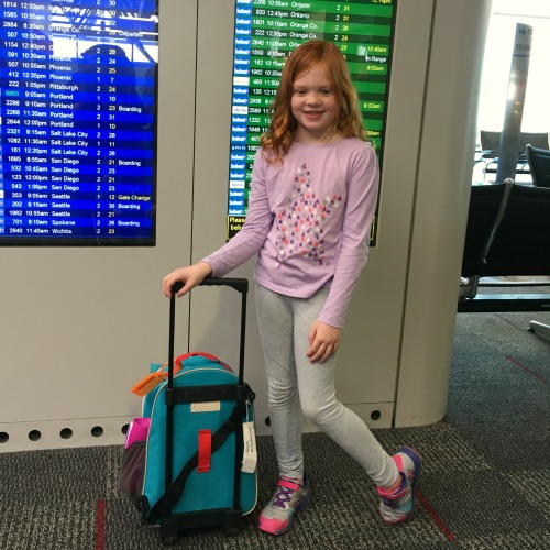 Track Your Tykes Travels - Child in Airport