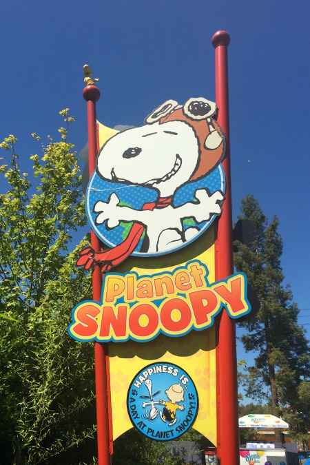 Californias Great America with Kids - Planet Snoopy
