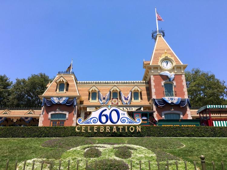 Disney Social Media Moms On the Road Disneyland - Disneyland Entrance