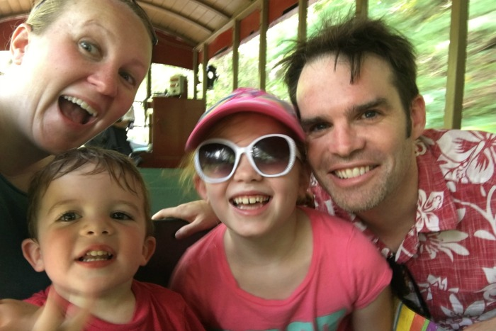 Dollywood with Kids - Dollywood Express Family Selfie