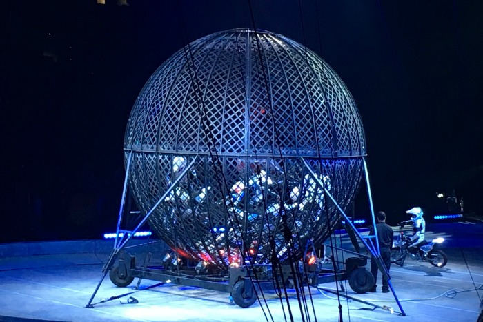 Ringling Bros Out of This World - Ball of Death