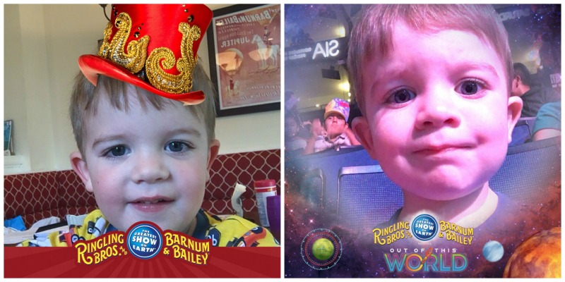 Ringling Bros Out of This World - Circus Selfies