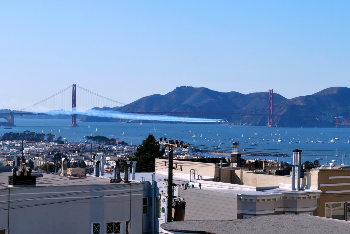 Top Fall Destinations in California - Fleet Week Blue Angels San Francisco