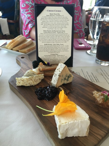 Disney's Grand Floridian Review - Citricos Cheese Selection