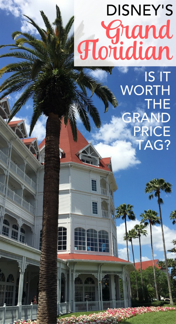 Is Disney's Grand Floridian Resort & Spa worth the cost? The most luxurious hotel at Disney is truly grand, but it comes at a price. Find out whether the Grand Floridian makes sense for your family's travel budget on your next Disney vacation.