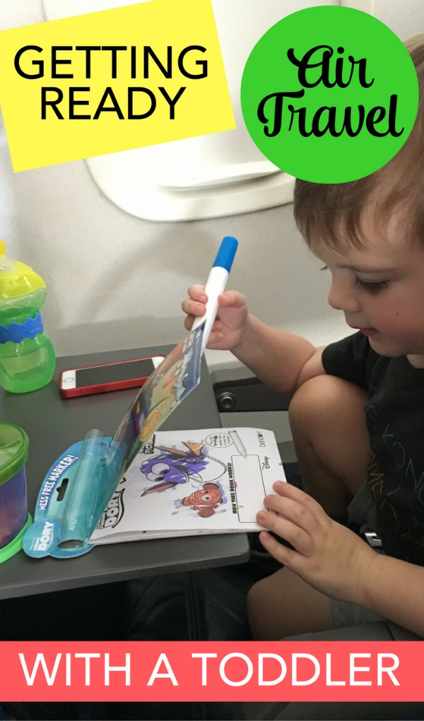Planning to travel with a toddler? How one family saved time and got the essential travel gear for an airplane trip - at a discount!