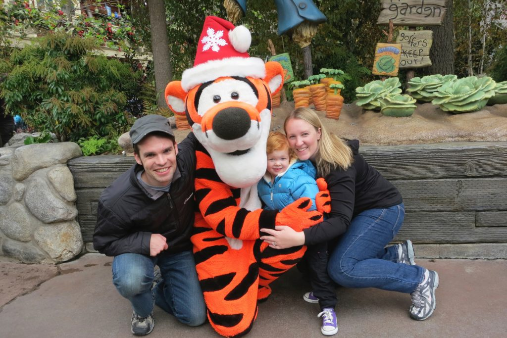 Disneyland with Toddlers - Tigger