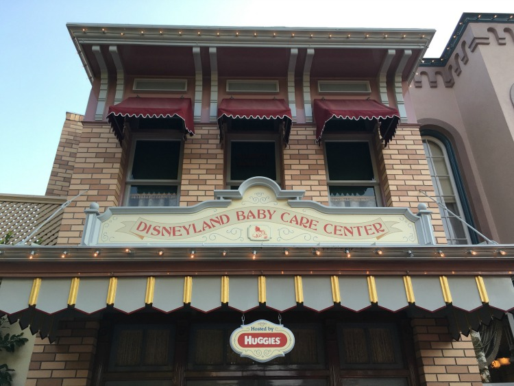 Disneyland with Toddlers: Baby Care Center