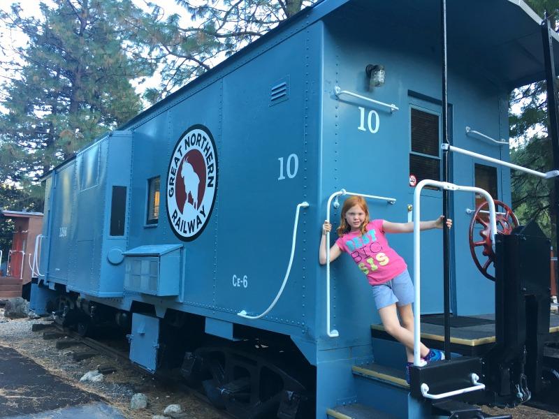 Redding California with Kids - Railroad Park Resort Dunsmuir