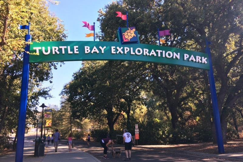 Redding California with Kids - Turtle Bay Exploration Park