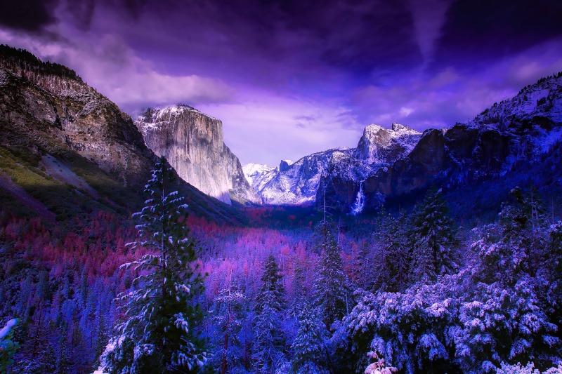 Spring Break Destinations in California - Yosemite