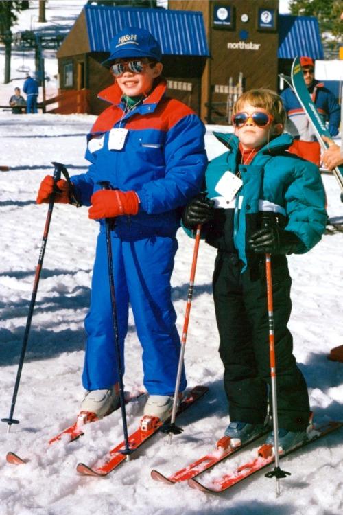 Skiing Northstar with Kids - Northstar Throwback