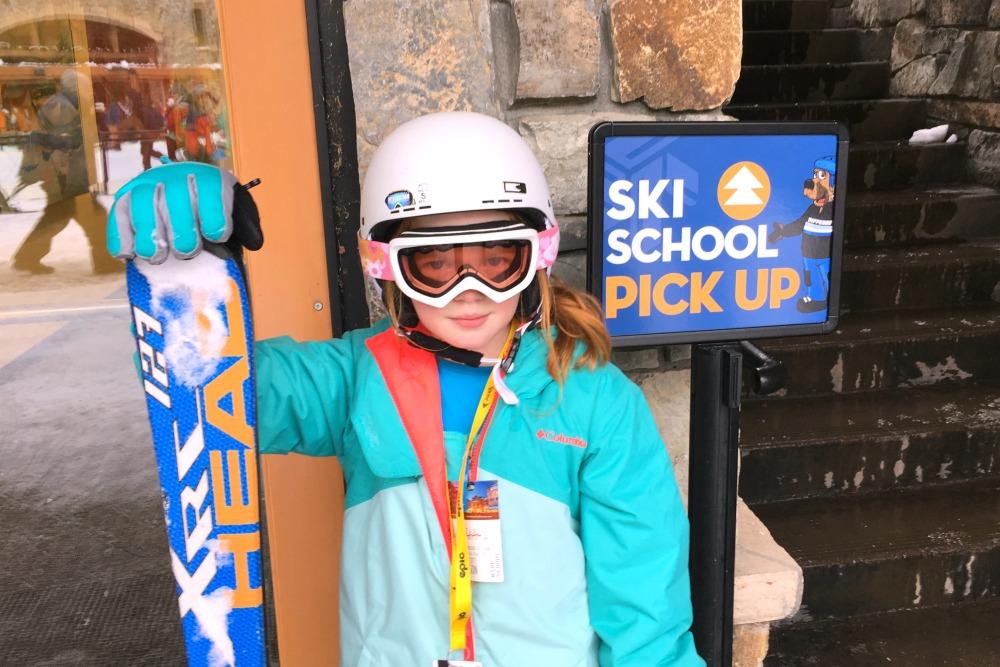 Skiing Northstar with Kids - Ski School