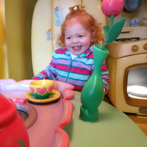 Disneyland with Preschoolers Minnies House