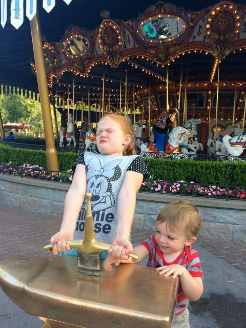 Disneyland with Preschoolers Sword in the Stone