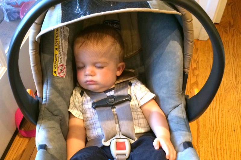 Car Seats International Travel - Baby in Infant Car Seat