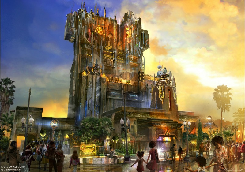 New at Disneyland 2017 - Guardians of the Galaxy Mission Breakout