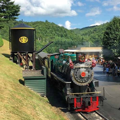 North Carolina High Country - Tweetsie Railroad Steam Engine