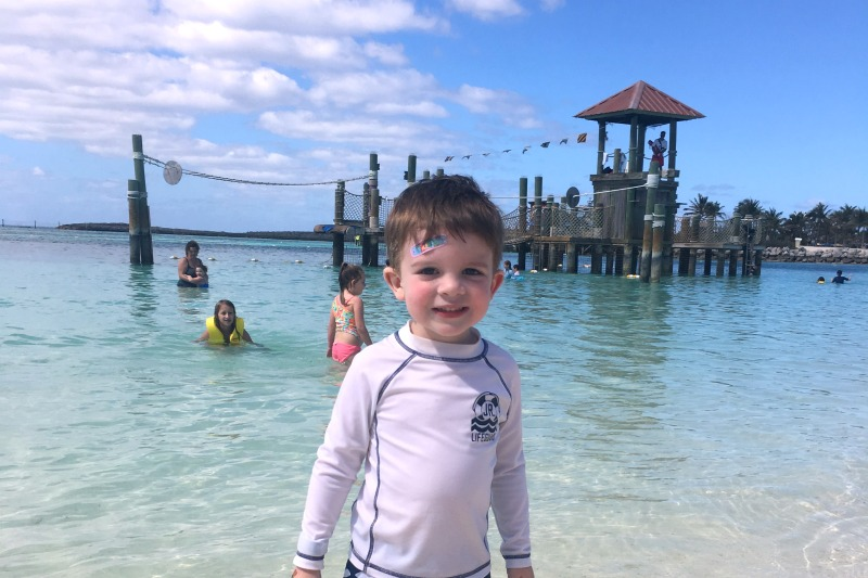 Disney Cruise Line with Toddlers and Preschoolers - Castaway Cay