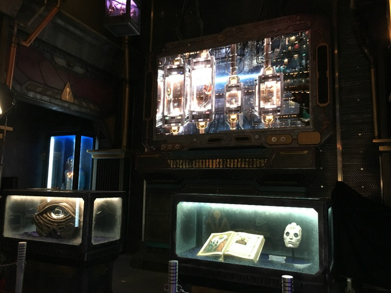 Guardians of the Galaxy Mission BREAKOUT - Lobby and Video