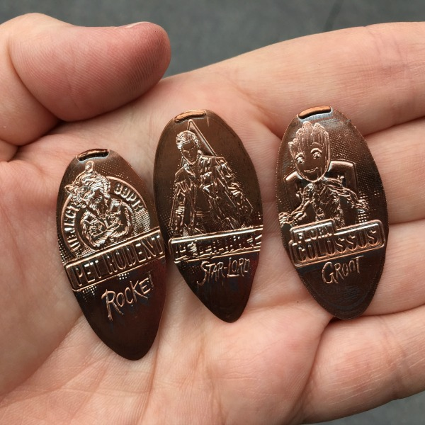 Guardians of the Galaxy Mission BREAKOUT - Pressed Pennies