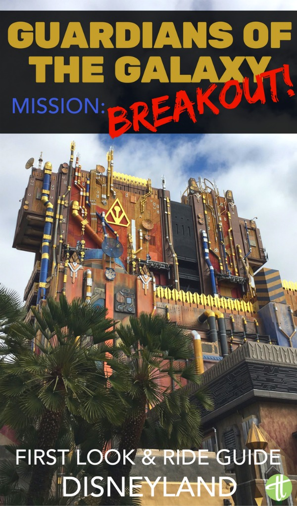 Guardians of the Galaxy -Mission: BREAKOUT has finally arrived to Disneyland for the Summer of Heroes in Disney California Adventure. Ride spoilers & tips for avoiding the lines.