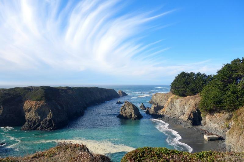 Summer Destinations in California - Mendocino Coast