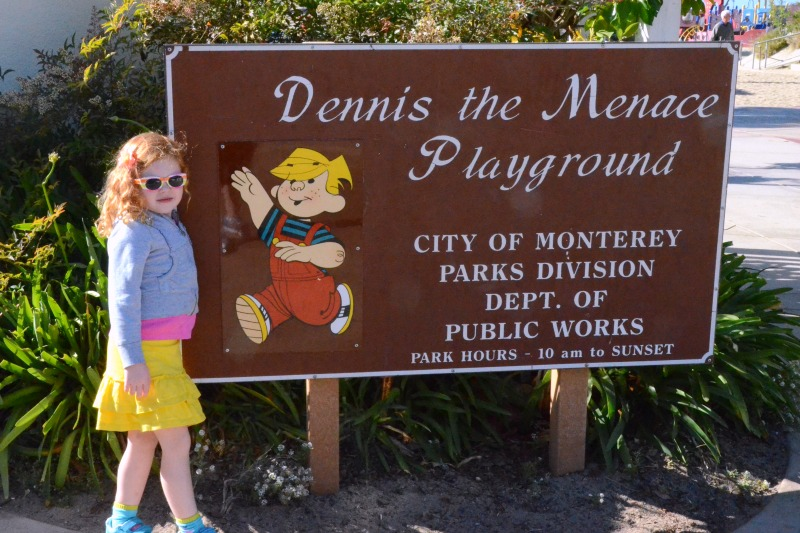 Things to do in Monterey, California with Kids - Dennis the Menace Playground