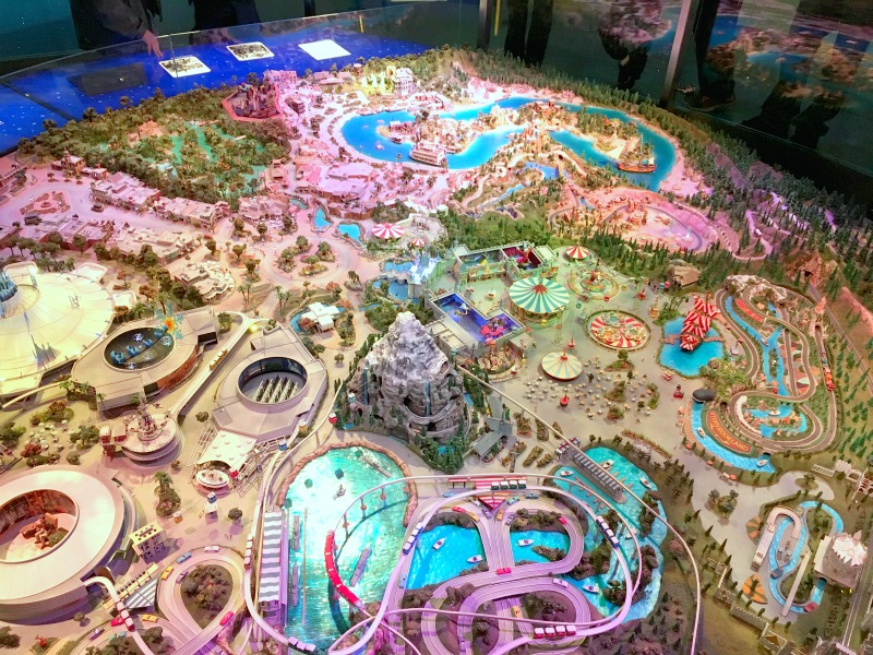 Walt Disney Family Museum - Disneyland Model