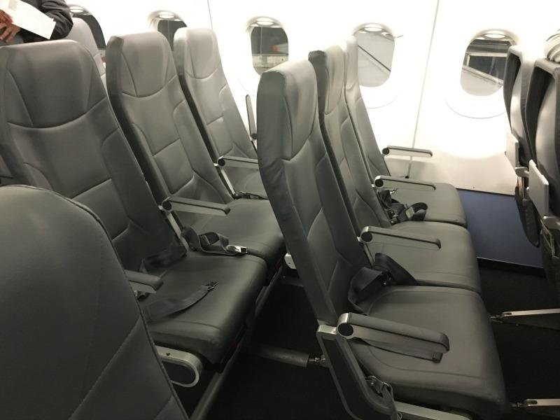 Frontier Airlines - Slimline Seats