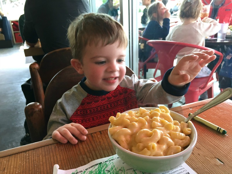 Things to do in Oakland with Kids - Homeroom Macaroni Cheese
