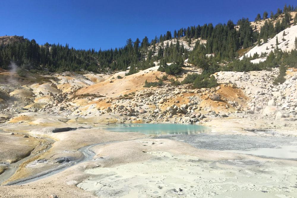 Lassen Volcanic National Park Bumpass Hell
