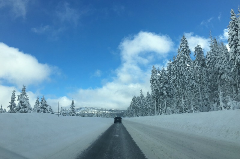 Tips for Family Road Trips on a Budget - Winter Road Trip