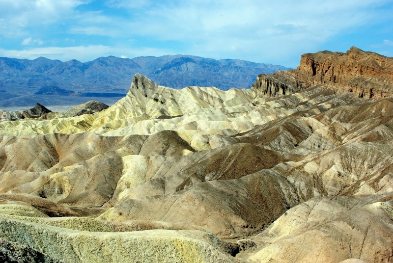 Top Fall Destinations in California - Death Valley
