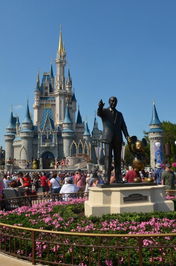 Which Walt Disney World Park to Skip on a Short Trip - Magic Kingdom Walt Statue