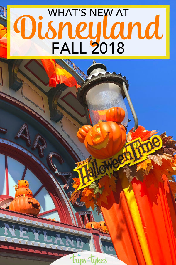 Do you know about all the new attractions and entertainment at Disneyland during Halloween Time and the winter holidays? Details on Coco, Vampirina, Festival of the Holidays and more. #Disneyland #DisneylandWithKids #Disney #FallTravel #WinterTravel #HalloweenTime