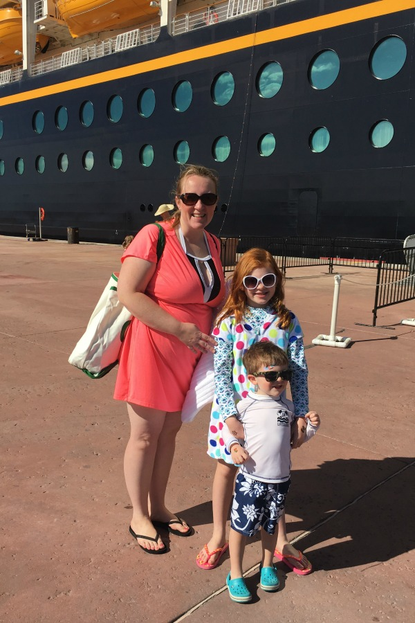 Disney Cruise Mistakes - Disembarking in Castaway Cay