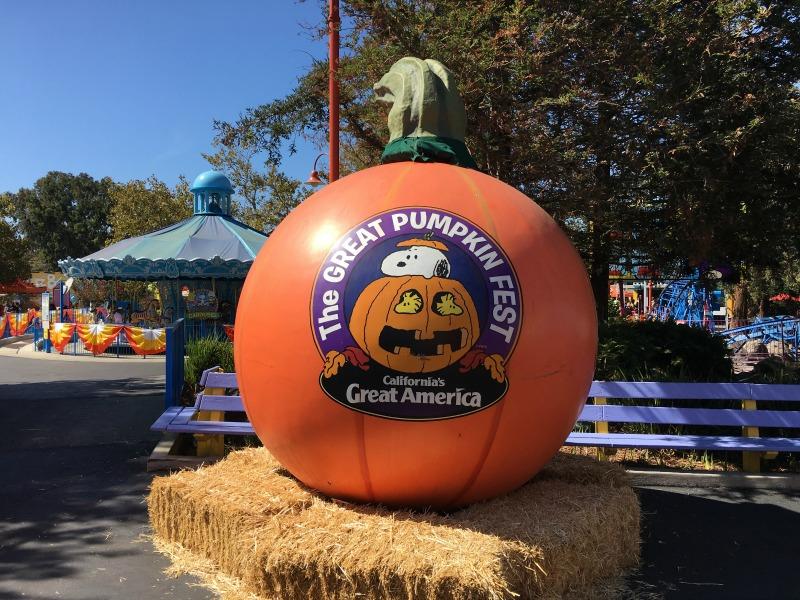 Great Pumpkin Fest Californias Great America - Decorations