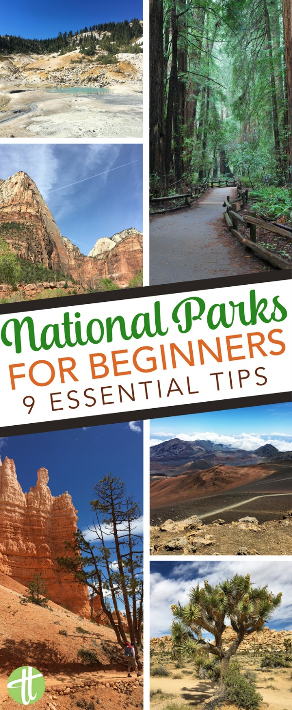 New to national parks travel? Tips and tricks for beginners visiting the USA national parks, from Yellowstone to Zion to Yosemite and beyond. #findyourpark #nationalparks