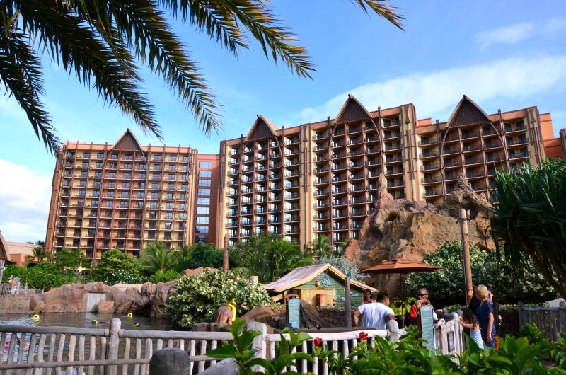 Disney Aulani Splurges - Disney Aulani Landscape at Rainbow Reef