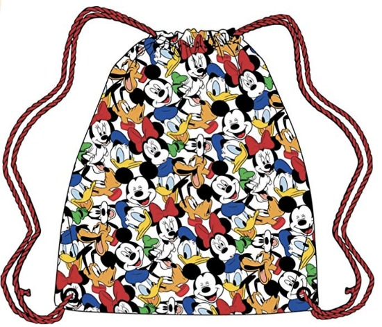 Disney Travel Stocking Stuffers - Drawstring Mickey Backpack