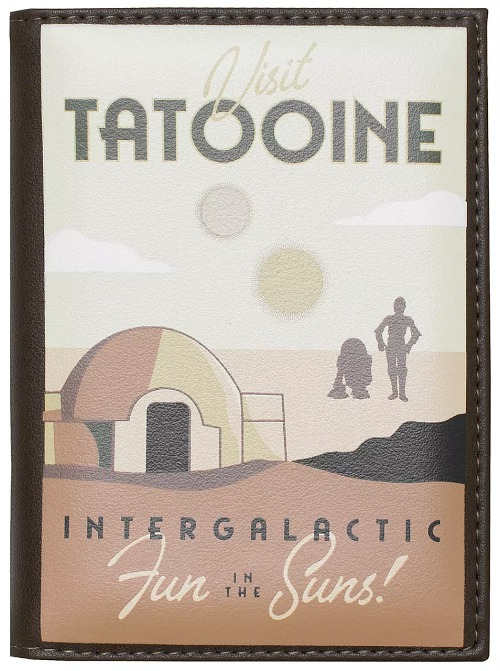 Disney Travel Stocking Stuffers - Tatooine Passport Holder