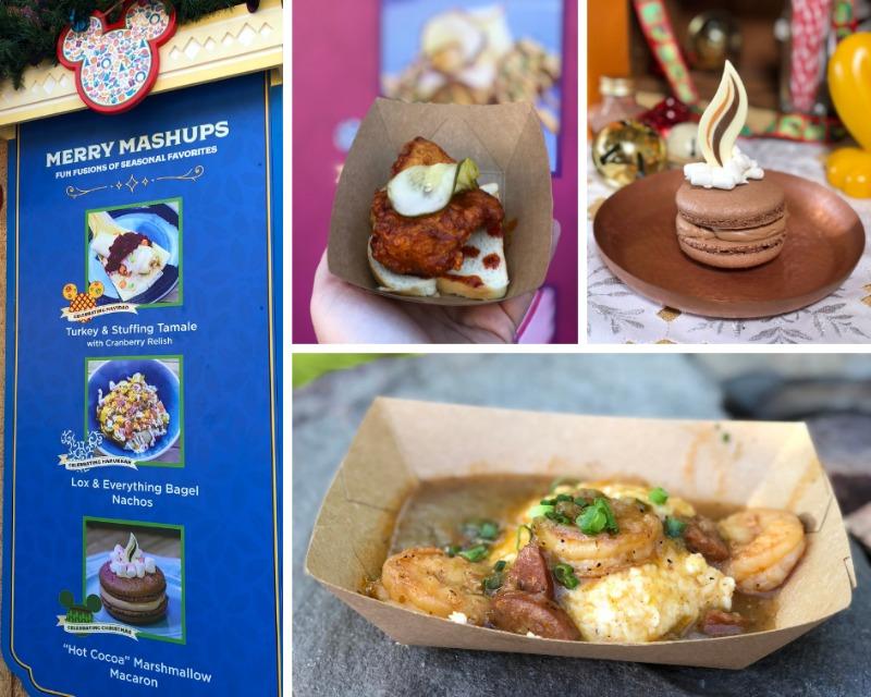 Disneyland Holidays - California Adventure Festival of Holidays Foods
