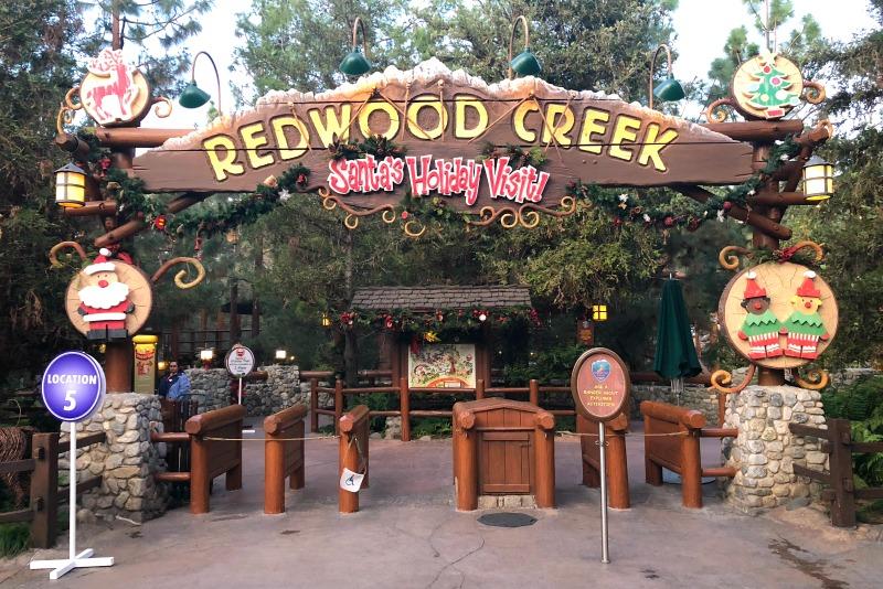 Disneyland Holidays - Santa at Redwood Creek
