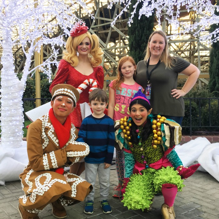 Winterfest at Great America - Holiday Character Meet and Greet