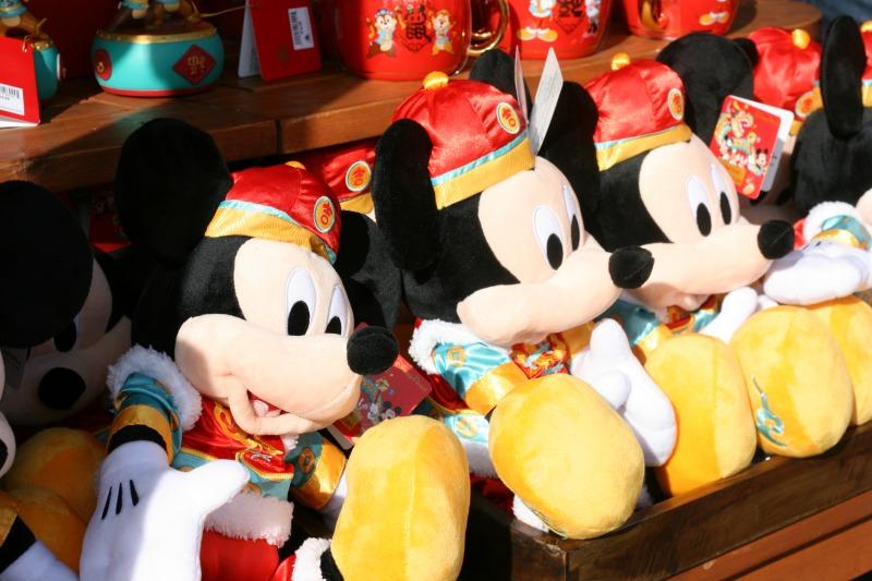 Disneyland Lunar New Year Mickey Merchandise