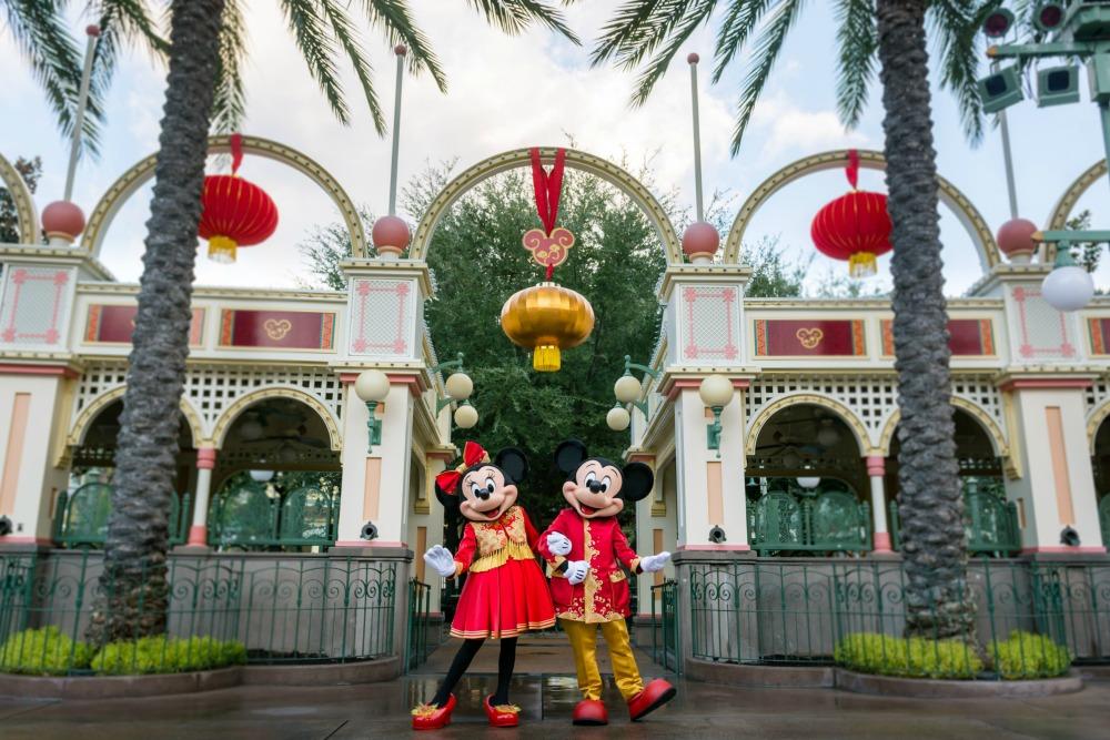 Disneyland Lunar New Year Mickey and Minnie